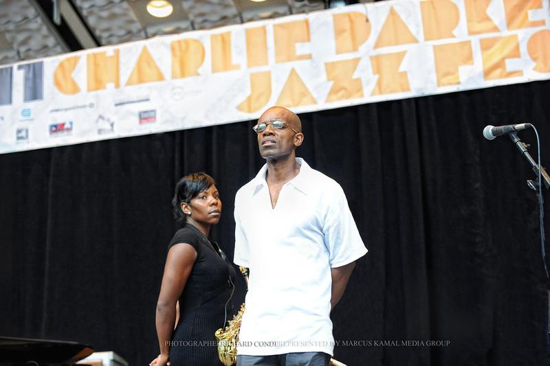 Tia Fuller / Rudy Rolston / Charlie Parker Festival 2011