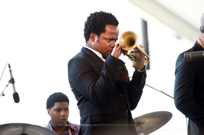 "AMBROSE AKINMUSIRE  / NEWPORT JAZZ FESTIVAL 2011 <br />  <a href=""http://www.facebook.com/richardcondemedia"">http://www.facebook.com/richardcondemedia</a>   <a href=""http://www.instagram.com/richard_conde_photography/"">http://www.instagram.com/richard_conde_photography/</a>"