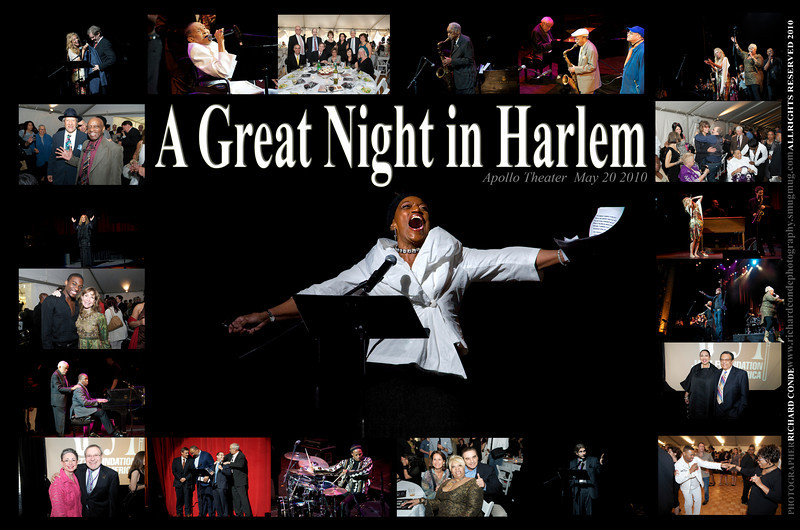 A GREAT NIGHT IN HARLEM 2010