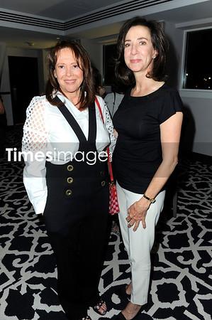 Elaine Berkowitz and Melony Brown