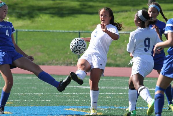 150412 Girls Varsity Soccer v WCA