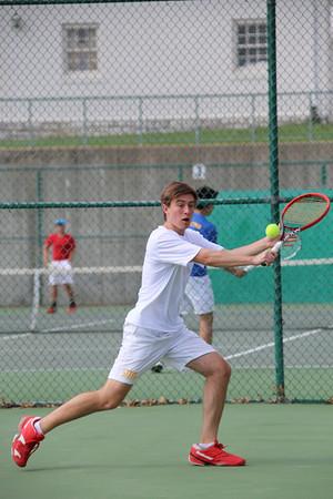 150424 Boys Varsity Tennis v Chaminade