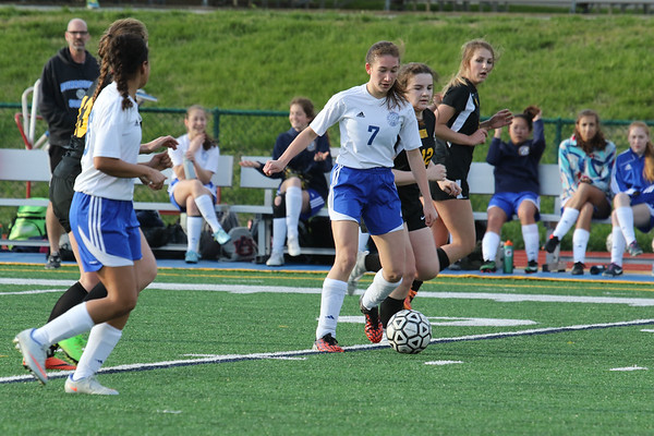 170406 Girls JV Soccer v Lutheran S
