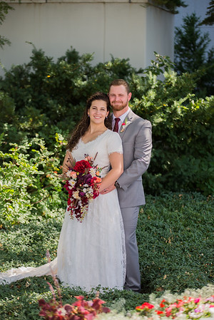 JC + Meg Wedding Day