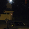 06/15/11 - Full Moon above my neighbor's house. I like bluish sky.