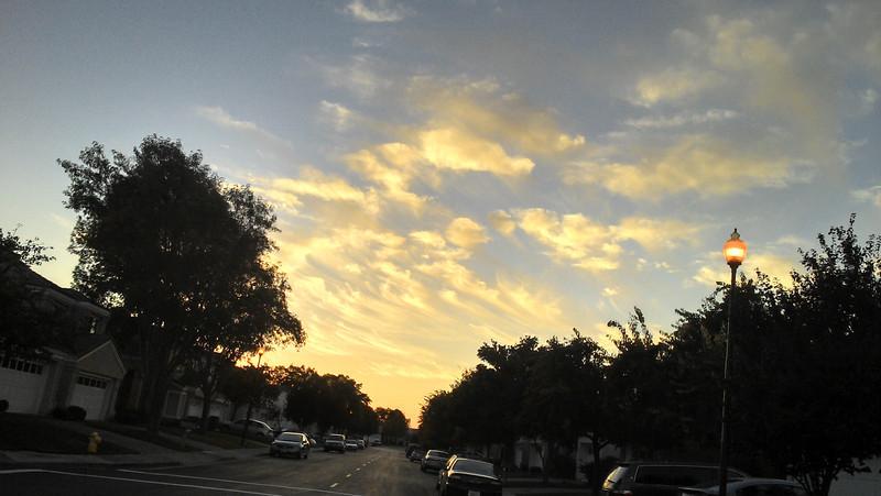 10/16/2013 - Pretty Clouds