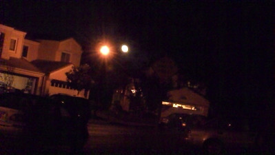10/21/2013  - Lights next to my room.....