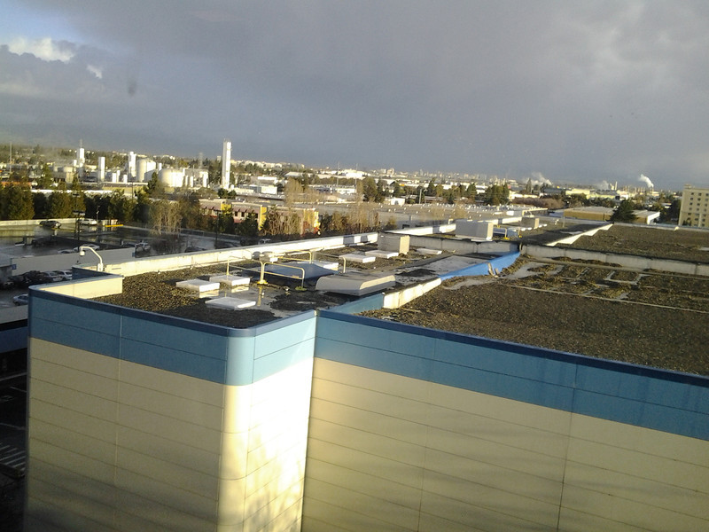 02/19/2013 - sunshine after all day of rain. too bad no rainbow nor snowy peaks