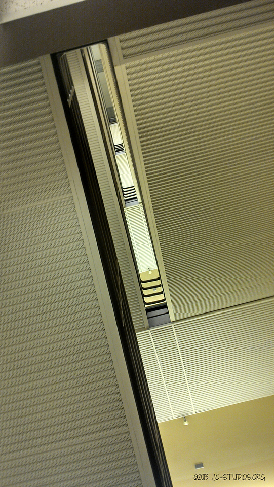 03/20/2013 - under the stairs. I like the layers but it seem looking down is better.