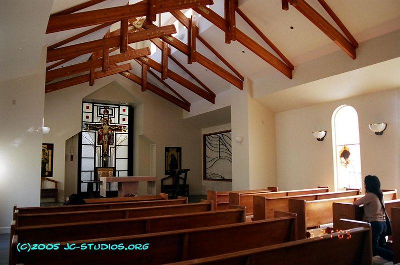 St Joseph Monestary Chapel, Aptos, CA