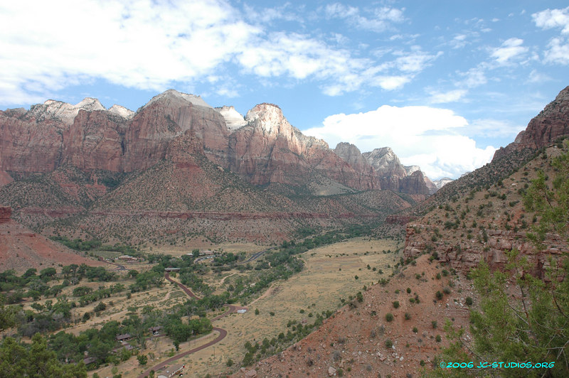 Zion National Park, from Watchman Trail, UT