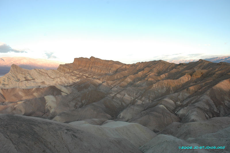 Dawn at Zabriskie Point, Death Valley National Park, CA