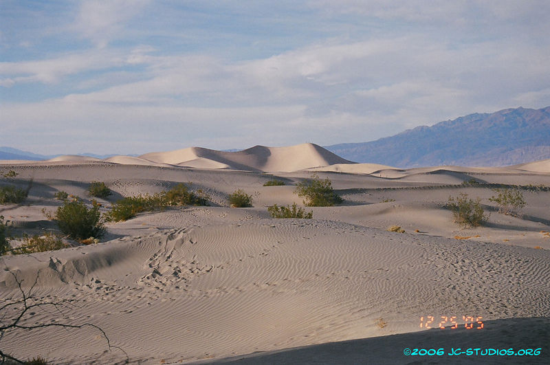 Sand Dunes at Dusk, Death Valley National Park, CA