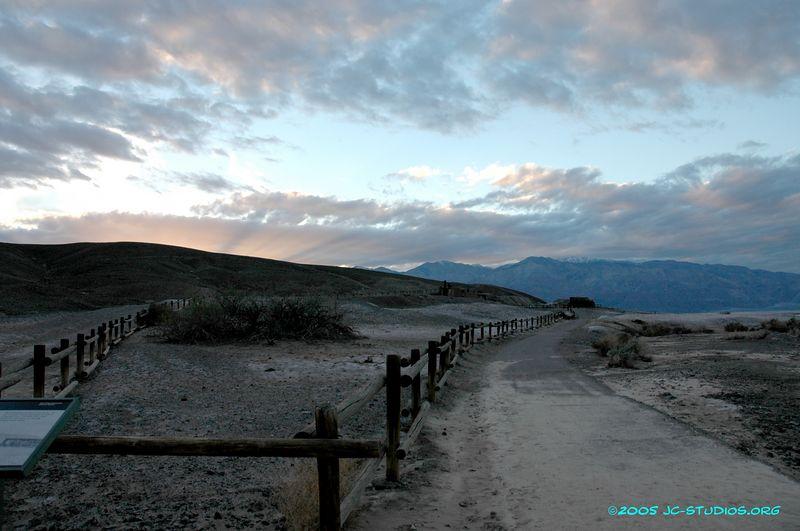 Fences at Harmony Borox, Death Valley National Park, CA