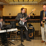 The Hunt Butler Trio provided musical entertainment during the cocktail reception.