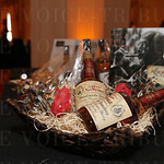 Silent auction items included this Old Rip VanWinkle gift basket.