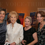 JCTC Foundation Board Chair Carla Dearing, Marlys Wearren, Mary Lee Fischer and Dr.Alexandra Gerassimides.