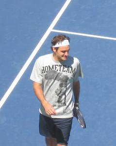 Federer - US Open Practice on P1 (102)