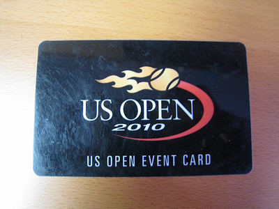 The US Open Black Card