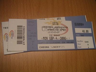 US Open Tickets