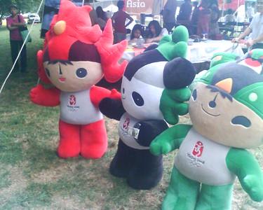 Beijing Mascots