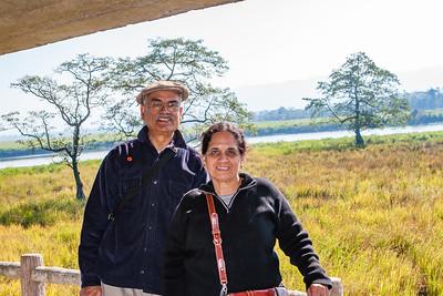 Vini and Sashi Mahajan