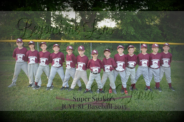 Vienna Super Soakers JCYL Baseball 2015