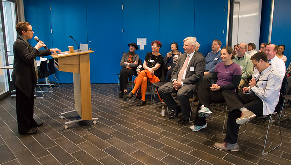 JDI Presentation of Visionary Voice Award to Meg Stone, IMPACT