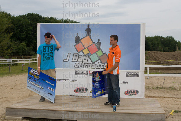 Podium Round 4 MX 207 GP 2011