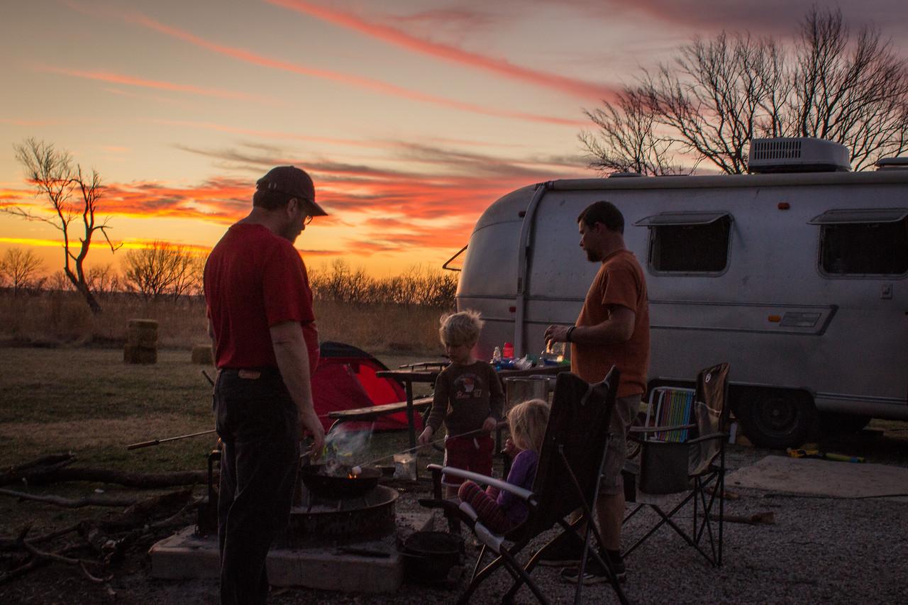 2015 Spring Break @ Clinton State Park