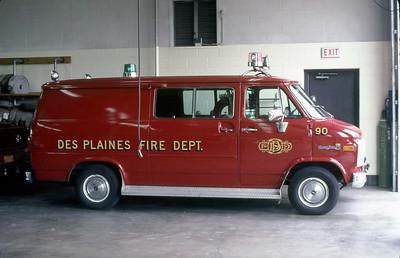 DES PLAINES FD   CAR 90  SHIFT COMMANDER