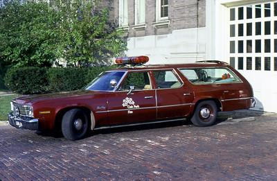 OAK PARK FD  CAR 620