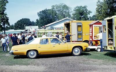 LISLE FIRE DISTRICT  CAR 505  1975 MONROE FIRE SCHOOL
