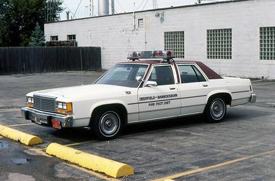 DEERFIELD BANNOCKBURN FPD  CAR 701