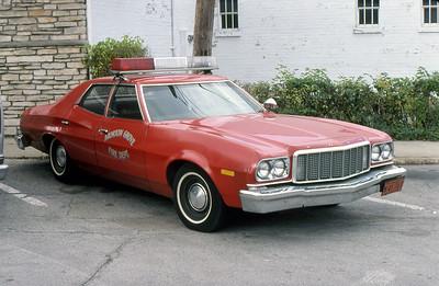 MORTON GROVE FD  CAR