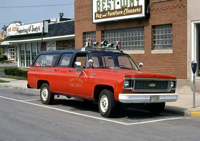 WHEATON FD  CAR 403  CHEVY SUBURBAN
