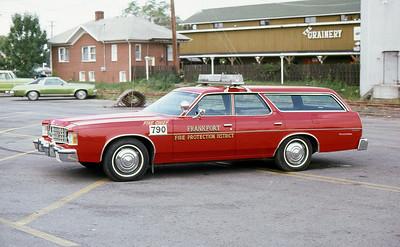 FRANKFORT FPD  CAR 790