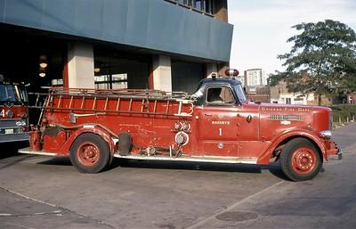 CHICAGO FD  RESCERVE ENGINE 1  1949  PIRSCH   1000-500