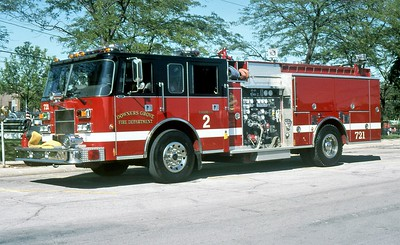 DOWNERS GROVE FD  ENGINE 721  1995  PIERCE SABER   1500-500
