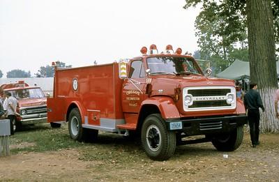 OREGON FPD  TANKER 568  CHEVY - ALEXIS     1973  MONROE FIRE SCHOOL