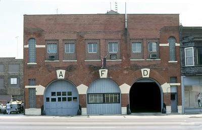 AURORA FD  CENTRAL STATION  1980