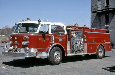 DELMAR FD NY  ENGINE 23  1977  ALFCO CENTURY   1000-1000