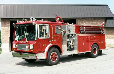 MENOMINEE FALLS FD WI  ENGINE 412  1979  MACK MC - MARION   450-1500