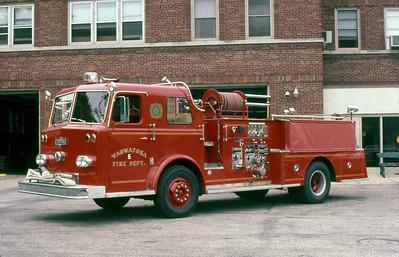 WAUWATOSA FD WI  ENGINE 5  1967  PIRSCH   1250-500