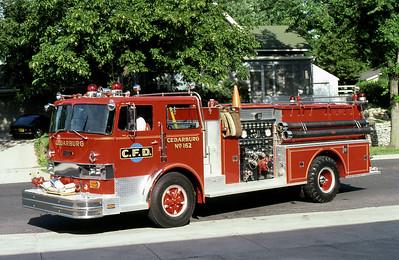 CEDARBURG FD  ENGINE 162  HENDRICKSON - PIERCE
