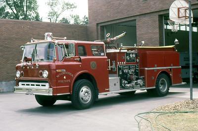 WAUWATOSA FD WI  ENGINE 4  1975  FORD C - CFA   1000-500