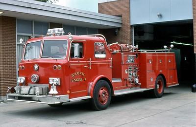 SKOKIE FD  ENGINE 3  1978  PIRSCH   1250-300
