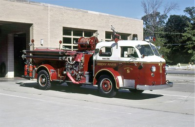 ROCKY RIVER FD OH  ENGINE 65  1947  ALFCO 700   1000-300     MARK MITCHELL PHOTO