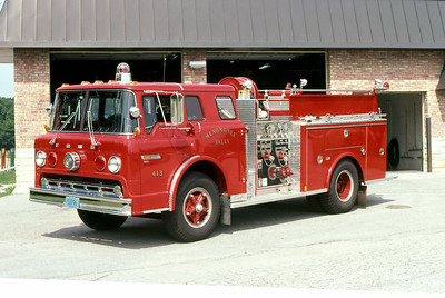 MENOMINEE FALLS FD WI  ENGINE 413  1981  FORD C - MARION   750-500
