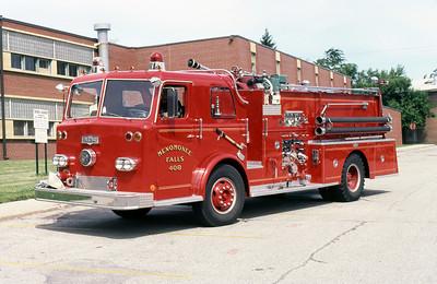 MENOMINEE FALLS FD WI  ENGINE 408  1968  PIRSCH   1000-500